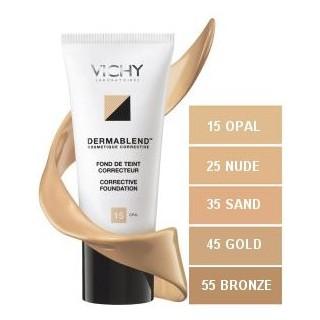 Vichy Dermablend Fond De Teint Fluide 25 Nude 30ml