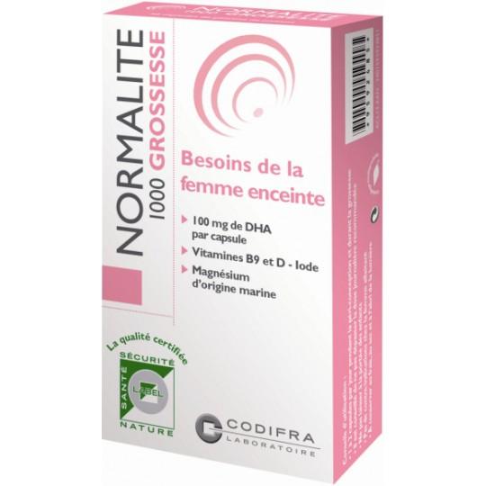Normalite 1000 grossesse 30cp Codifra