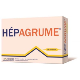 Hepagrume Solution Buvable 18 Ampoules