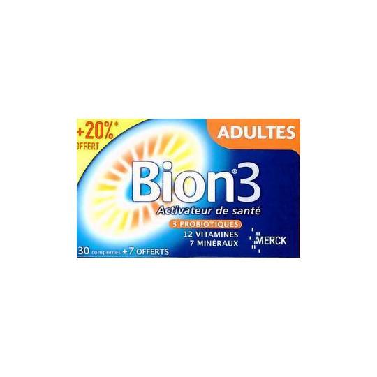 Bion 3 Adulte 30+7 Comprimés