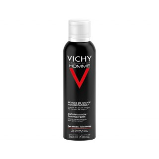 Vichy Homme mousse de rasage anti - irritations