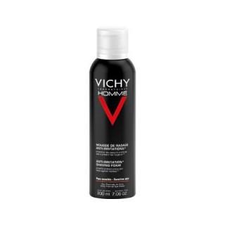 Vichy Homme  mousse de rasage anti - irritations