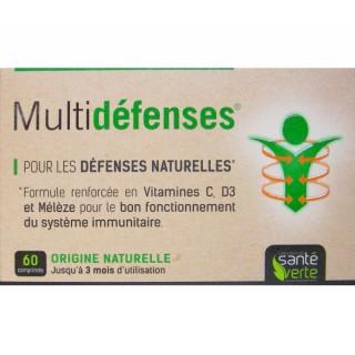 Multidéfenses 60 Comprimés - santé verte