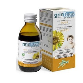 Aboca GrinTuss Pediatric Sirop Enfants 210 g