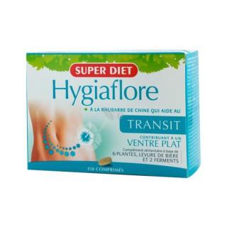 Super diet Hygiaflore Rhubarbe transit 150 comprimés