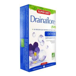 Super Diet Drainaflore Bio 20 Ampoules