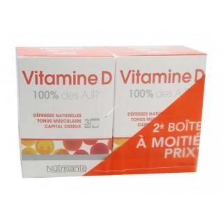Nutrisanté Vitamine D  lot 2x90 comprimés