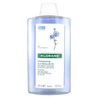 Klorane Linen Fibers Shampoo 400 ml