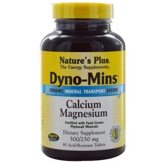 Dyno MINS CAL/MAG 500/250 30cp Nature's plus