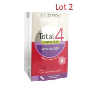 Nutreov Total 4 Ventre Plat Minceur 3D 2 x 30 Gélules