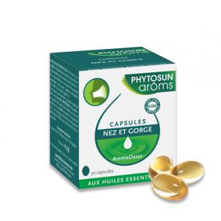 Phytosun aroms Aromadoses nez et gorge 30 capsules