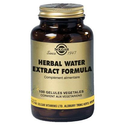 Solgar Herbal Water100 gélules végétales