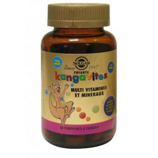Solgar Kangavites 90 comprimés goût fruits rouges
