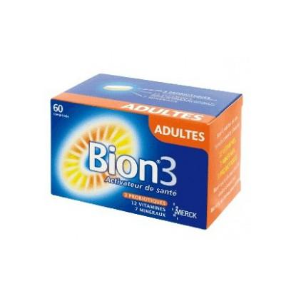 Bion 3 Adulte 60 Comprimes