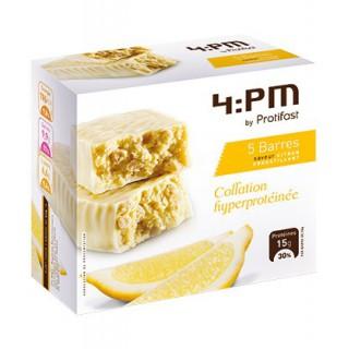 Protifast 4:PM Barres Citron croustillant 5 unités