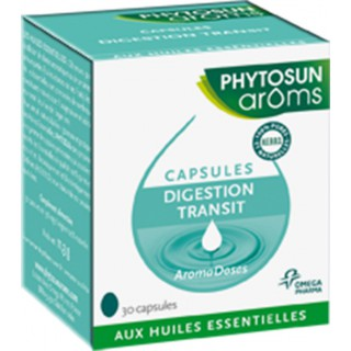Phytosun Aromadoses Digestion Transit 30 Capsules