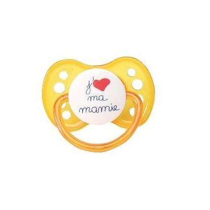 LUC/LEA Sucette J'aime ma mamy +6mois