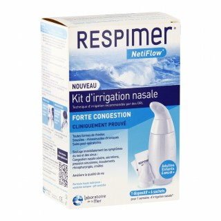 EFFICARE Respimer kit d'irrigation nasale