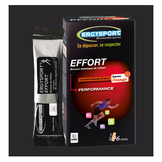 Ergysport Effort Pêche 6 sticks de 30 Grammes