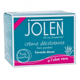 Jolen Crème décolorante Aloe Véra 30 ml