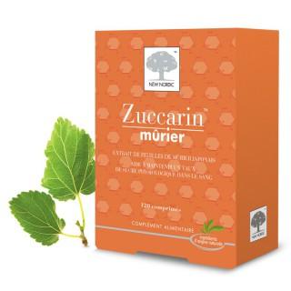 New Nordic Zuccarrin Mûrier 120 Comprimés