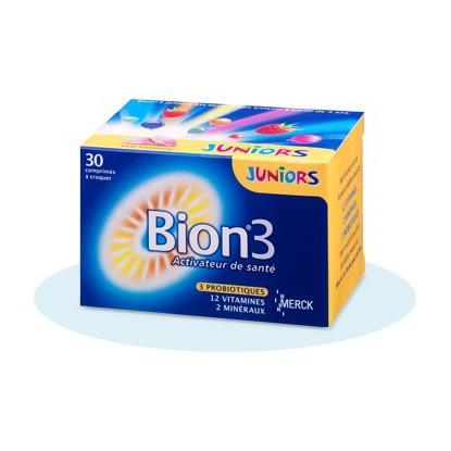 BION 3 Junior boite de 30 comprimées à croquer