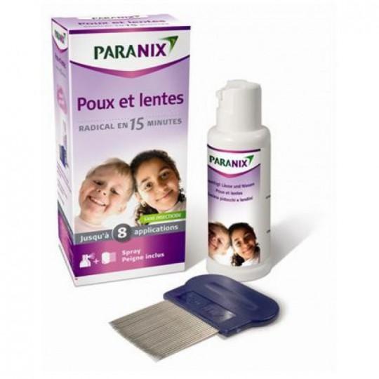 Paranix spray anti poux et lentes 100 ml + peigne