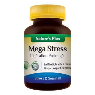 Mega stress libération prolongée 30cp Nature's plus