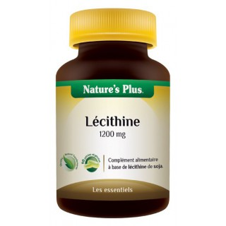 Lecithine de soja 1200mg Nature's Plus