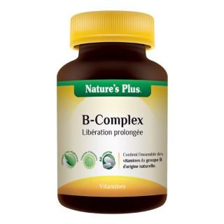 B-COMPLEX Libération prolongée Nature's Plus 60 cp