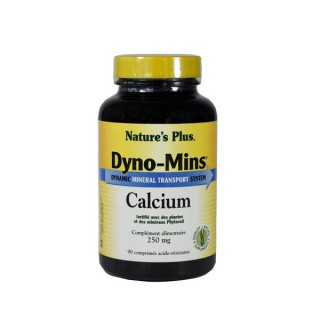 DYNO MINS CALCIUM 250MG 30cp Nature's plus