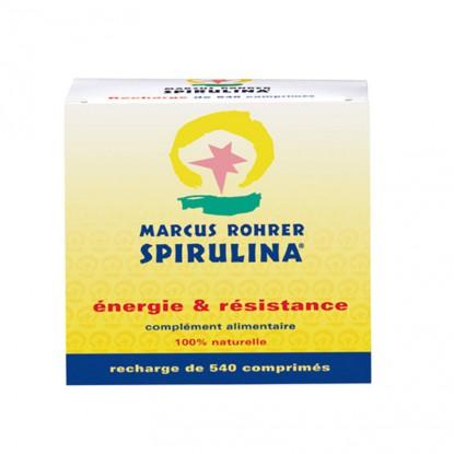 Spirulina Marcus Rohrer Boite 540 Comprimés