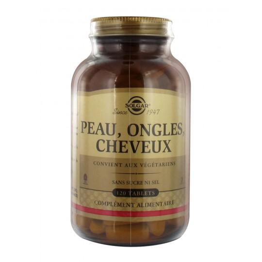 Solgar Peau, Ongles, Cheveux 120 Cp