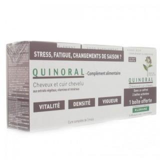 Klorane QUINORAL Vitalité densité 3x30 capsules