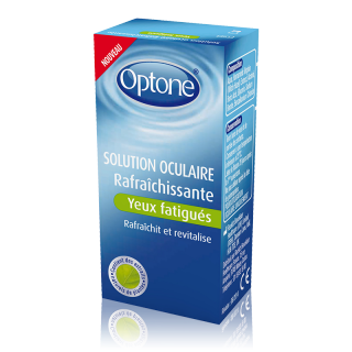 Optone Solution oculaire Rafraîchissante Yeux fatigués