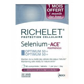 Richelet Selenium ACE Essentiel 50+ 90 comprimés + 1 mois offert