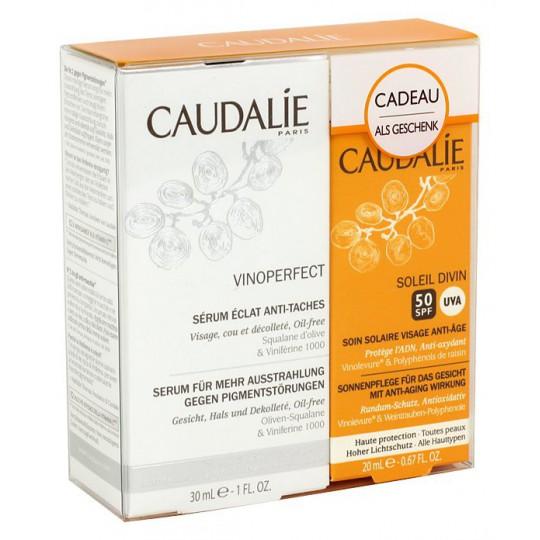 Caudalie Vinoperfect Serum 30ml+ Soleil Divin 50SPF offert