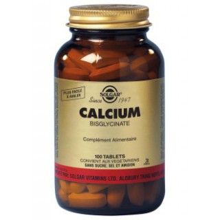 Solgar Calcium Bisglycinate 100 tablets