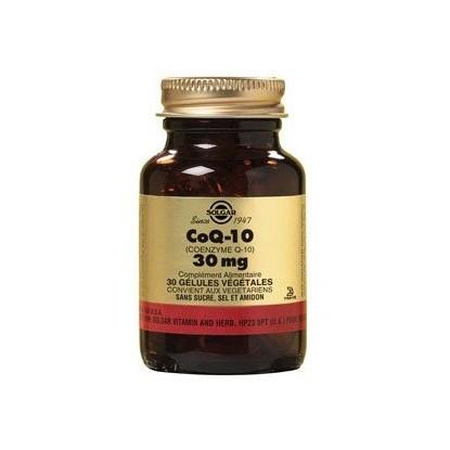 Solgar Coenzyme Q10 30mg Vegetal caps