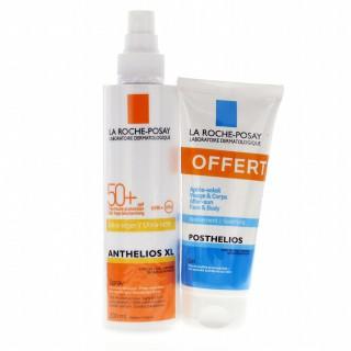 LRP Anthelios 50+ spray 200ml + Posthelios après solaire 100ml offert