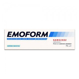 Emoform Dentifrice Gencives Menthe 75 ml