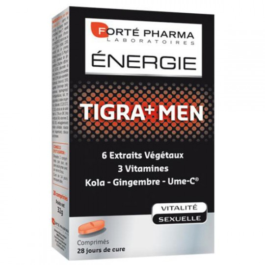 Forté Pharma Energie Tigra+ Men 28 comprimés