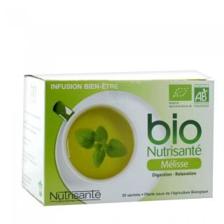 Nutrisante Lemon Balm infusion 20 bags
