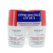 Vichy Déodorant bille Détranspirant intense 72h 50ml DUO
