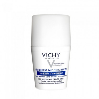 Vichy Déodorant bille sans sel d'aluminium 50ml solo