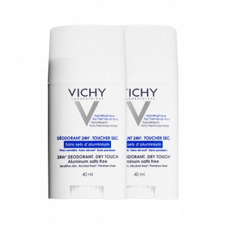 Vichy Deodorant aluminium salt free x2