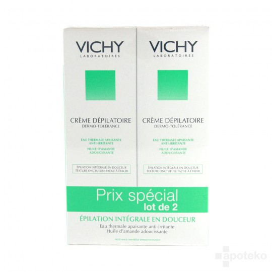 VICHY Hair removal cream package