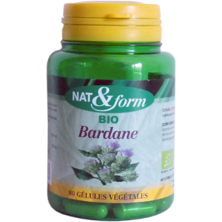 Nat & form Burdock organic 200 Caps