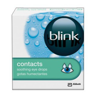 Blink Contacts Gouttes de confort 20 x 0.35ml