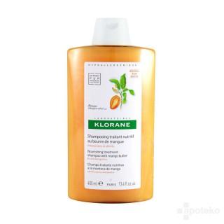 Klorane Shampooing au beurre de mangue 200ml